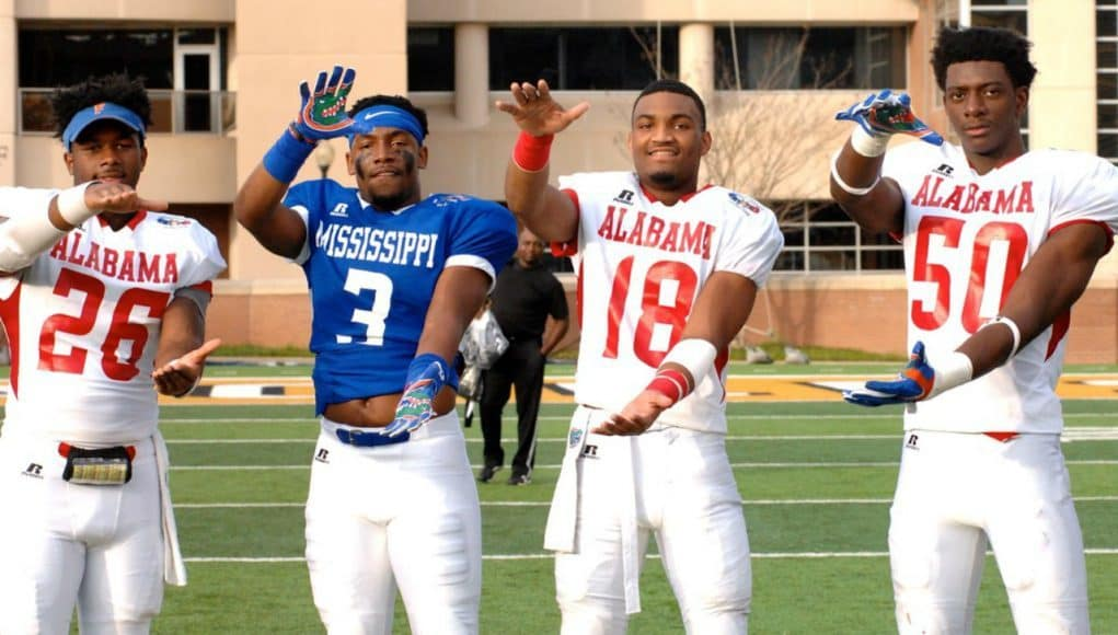 Florida Gators commits during the Alabama vs Miss game- 1280x850