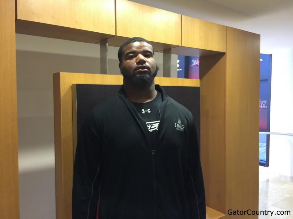 Florida Gators defensive tackle target Shavar Manuel- 1280x960