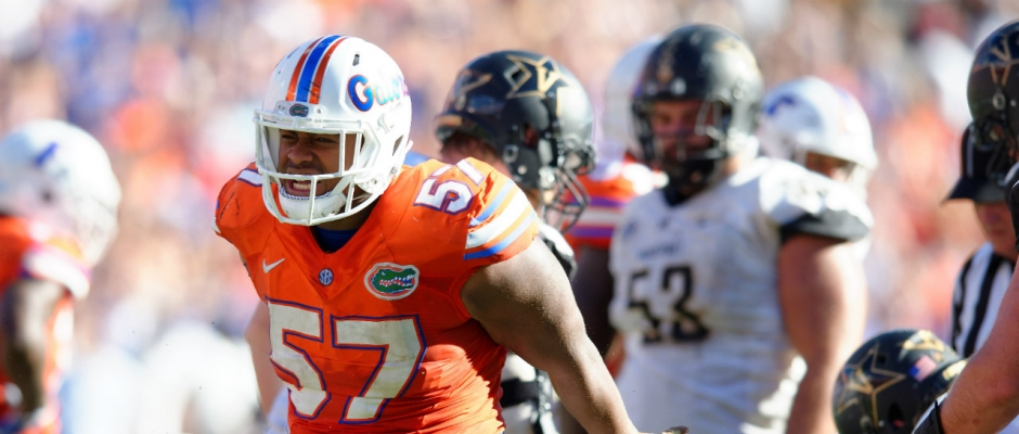 Caleb Brantley is going
