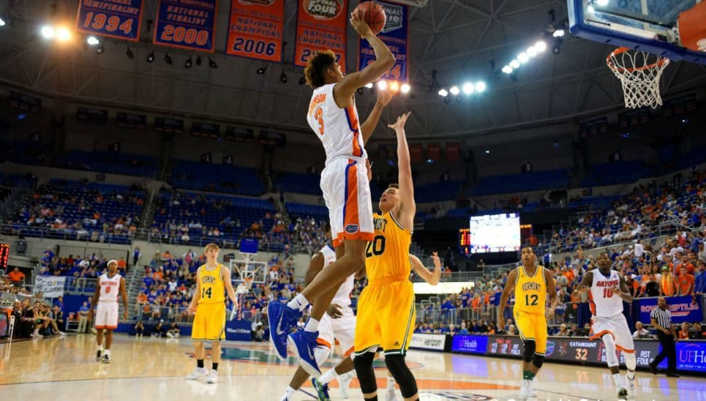 University of Florida Gators Basketball 2015 Forward Devin Robinson