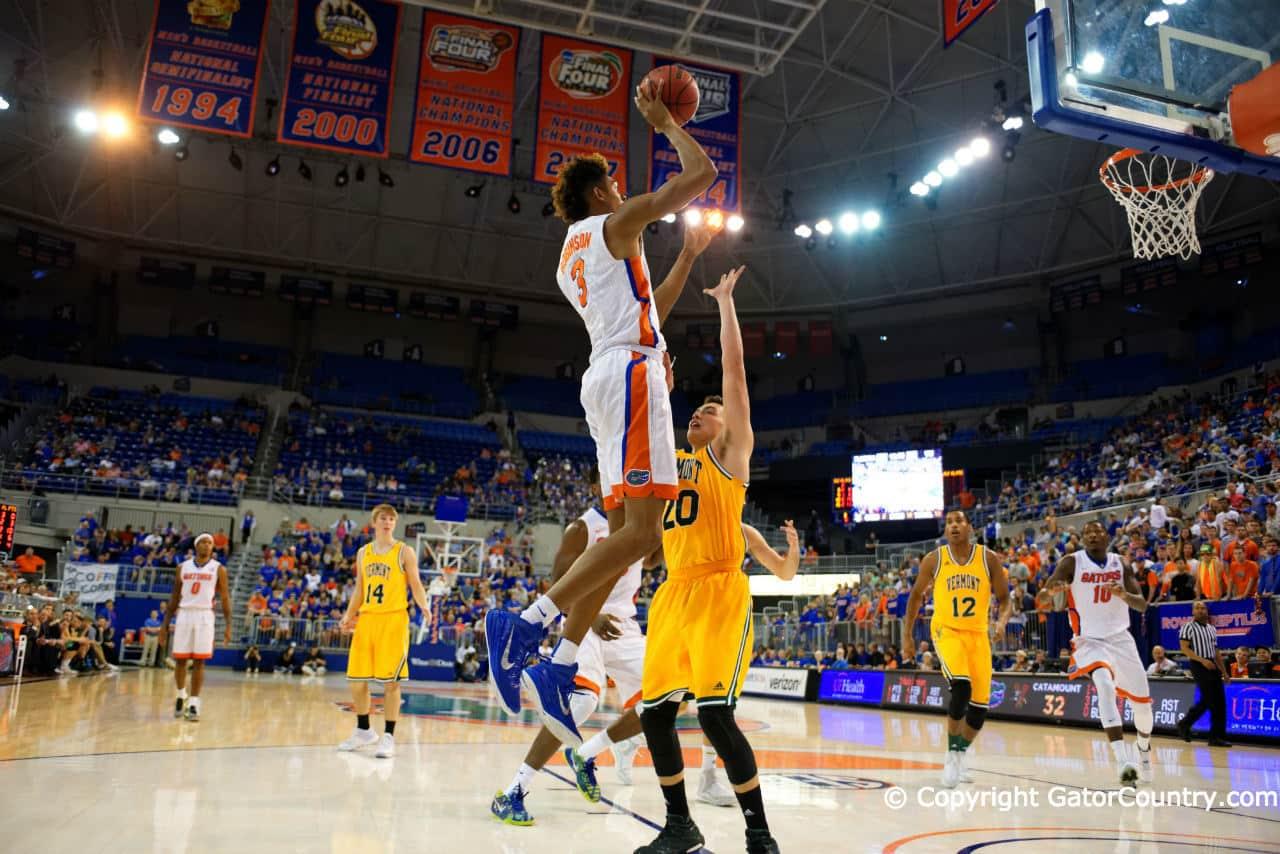 University of Florida Gators Basketball 2015 Forward Devin Robinson