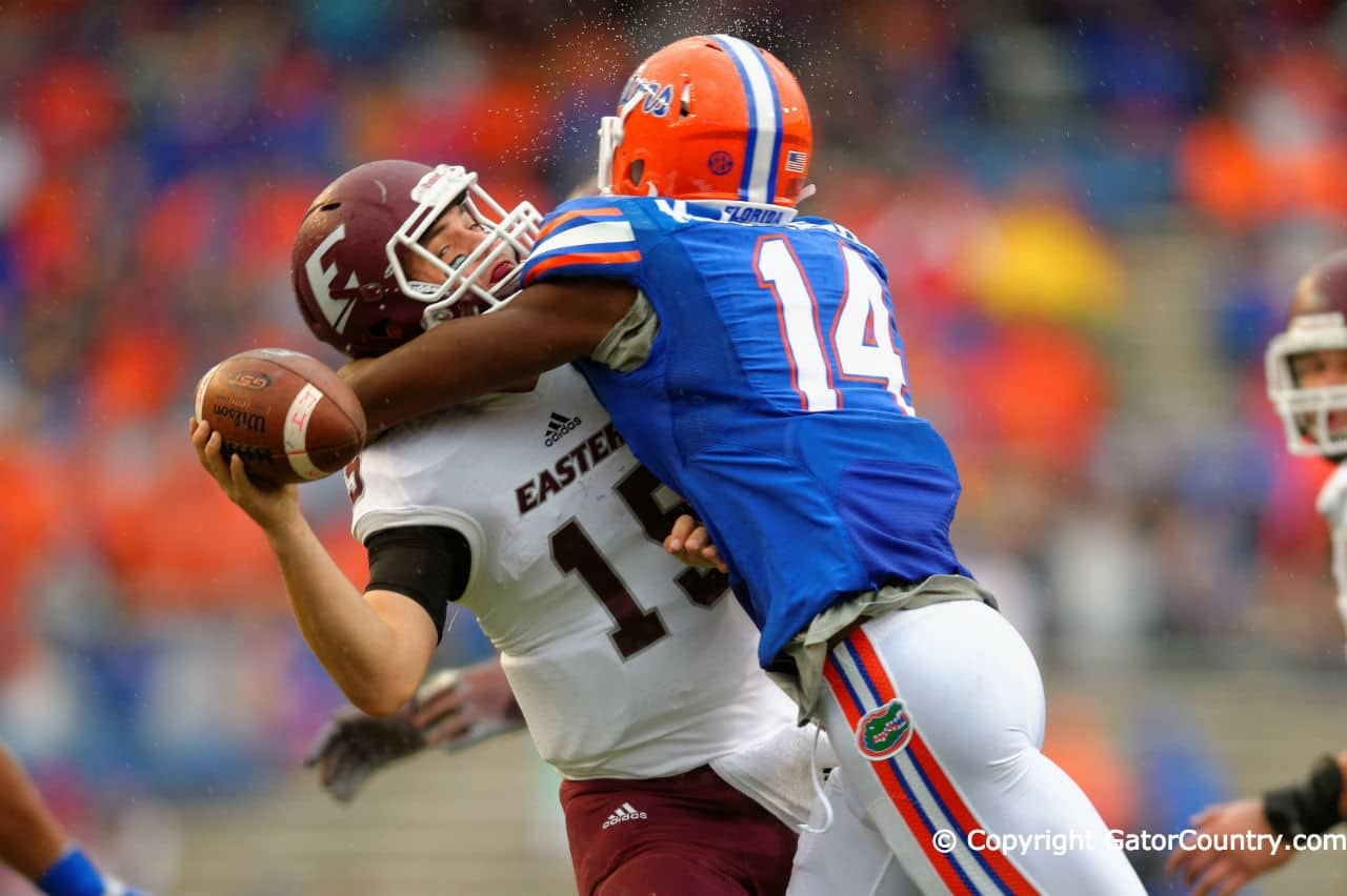 florida gators florida football the swamp eastern kentucky alex mccalister sack 1280x852