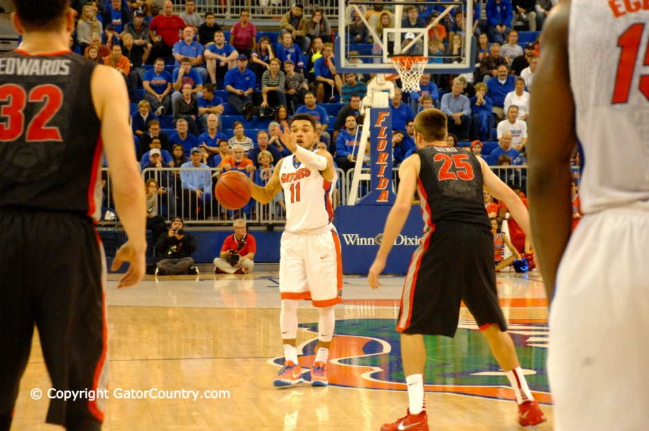 Florida Gators basketball Chris Chiozza Directs Traffic in Win Over Georgia Bulldogs-Florida Gators Basketball-1280x850