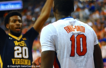 Florida Gators basketball drop Mountaineers at their own game