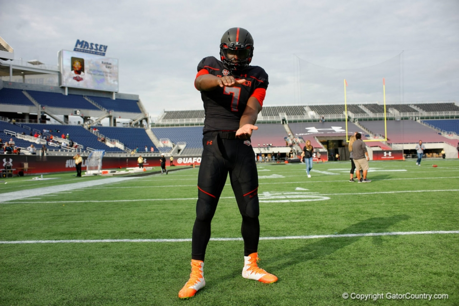 Florida Gators DE commit Antonneous Clayton at the Under Armour game- 1280x853