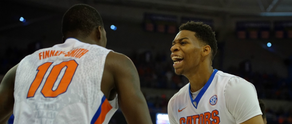 Florida Gators Basketball Shows Emotion and Growth In Win