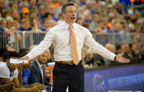 Mike White speaking notebook on Florida Gators basketball