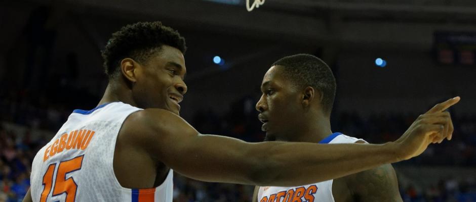 Florida Gators basketball defeats Arkansas 68-61