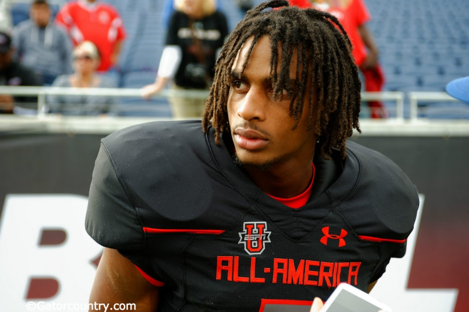 Florida Gators recruiting target Tyrie Cleveland after the 2016 Under Armour All-American game- Florida Gators recruiting- 1280x852