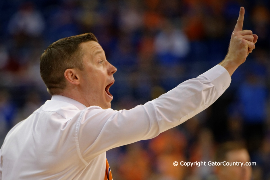 University of Florida Gators Mens Basketball head coach Mike White