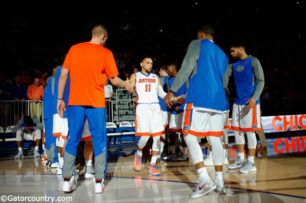 Florida-gators-guard-chris-chiozza-is-introduced-before-the-florida-gators-basketball-game-against-the-lsu-tigers-florida-gators-basketball-1280x852