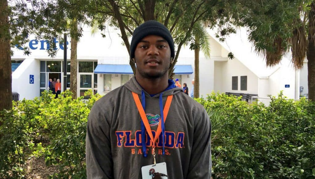 Florida Gators recruiting commit Daquon Green at junior day- 1280x960
