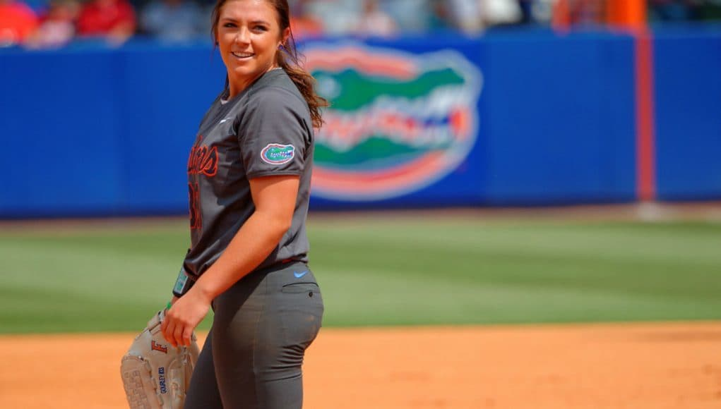 Florida Gators softball pitcher Delanie Gourley- 1280x851