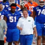 Florida Gators football coach Jim McElwain during spring 2016 practice- 1280x853