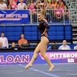 Florida Gators gymnast Bridget Sloan against Arkansas- 1280x853