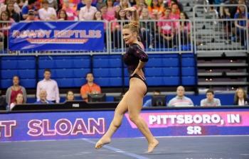 Florida Gators gymnastics cruise to a win behind Bridget Sloan