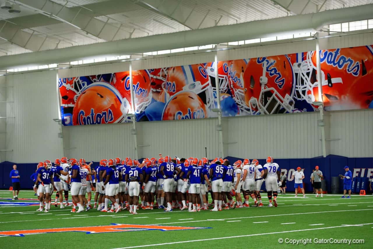 Florida Gators indoor practice facility for the football team- 1280x855