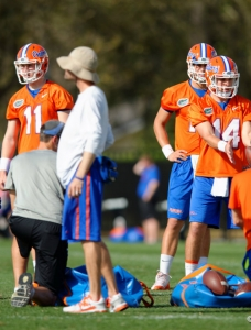 Spring scrimmage and QB talk for the Florida Gators: Podcast