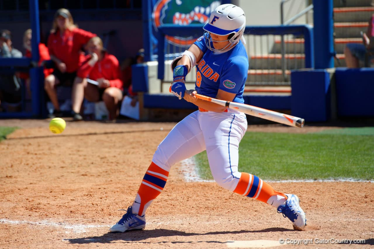 Florida Gators softball player Amanda Lorenz in 2016- 1280x853