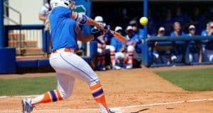 Florida Gators softball player Kayli Kvistad against Illinois State- 1280x853