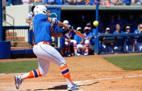 Florida Gators softball run rules UCF at home