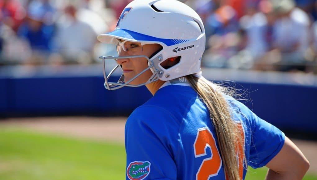 Florida Gators softball player Kirsti Merritt in 2016- 1280x853
