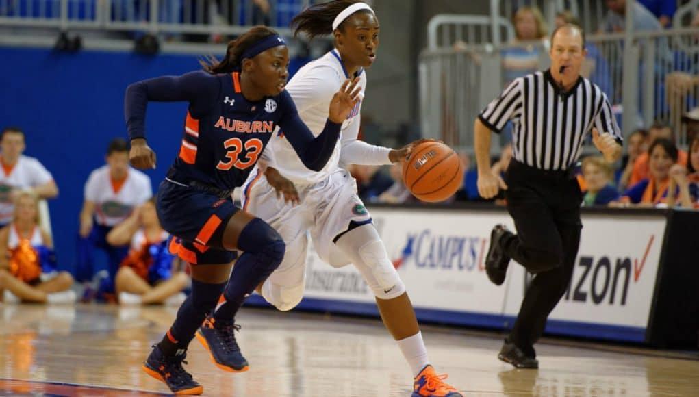 Florida Gators women's basketball player Ronni Williams- 1280x853