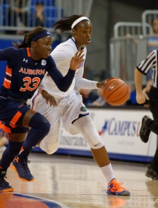 Three Florida Gators women's basketball players honored