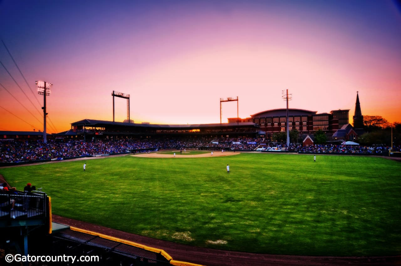 The Baseball Grounds of Jacksonville, host site for the Sunshine Showdown between the Florida Gators and Florida State Seminoles- Florida Gators baseball 1280x852