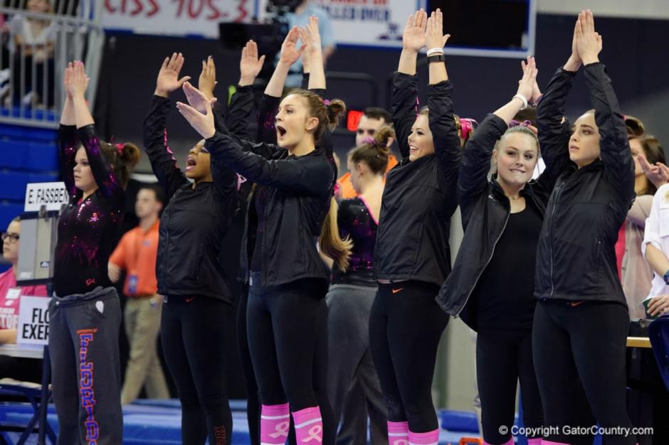 Florida Gators gymnastics celebrate a good 2016 season- 1280x853
