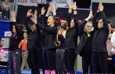 #3 Florida Gators gymnastics defeats #14 Kentucky