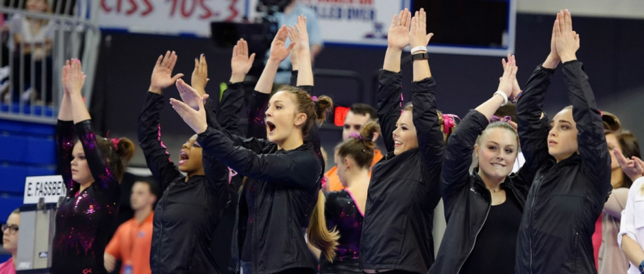 Florida Gators gymnastics falls just short at NCAA championship