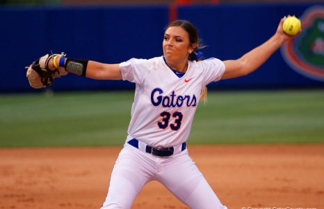 Gourley is perfect in Florida Gators softball win
