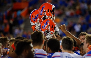 Florida Gators Orange and Blue Debut photo gallery