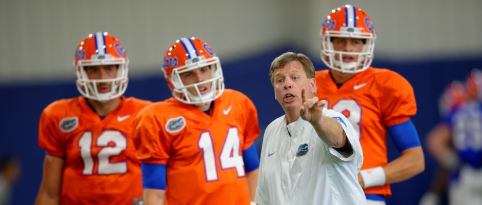 Jim McElwain optimistic about his quarterbacks