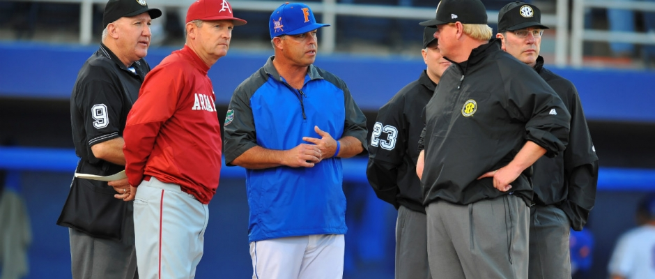 Florida Gators baseball stays perfect in midweek games