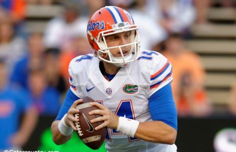 Luke Del Rio named Florida Gators starting quarterback