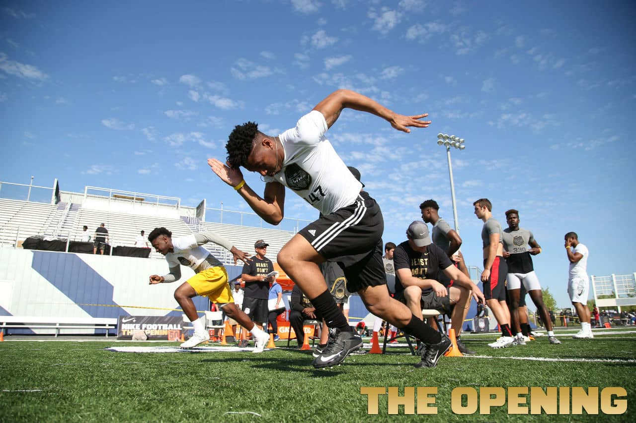 Florida Gators recruiting target Brad Stewart at the Opening Regional in New Orleans- 1280x853