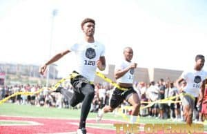 Florida Gators recruiting target Elijah Blades at the Opening regional- 1280x853