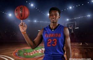 University of Florida freshman Keith Stone poses for Gator Country during media day- Florida Gators basketball- 1280x852