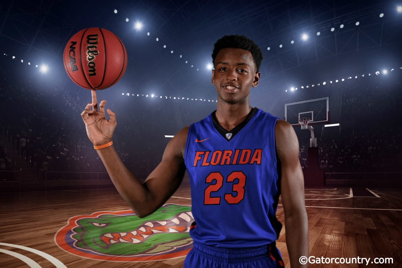 University of Florida freshman Keith Stone poses for Gator Country during media day- Florida Gators basketball- 1280x852