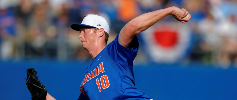 Oakland Athletics draft A.J. Puk with pick No. 6