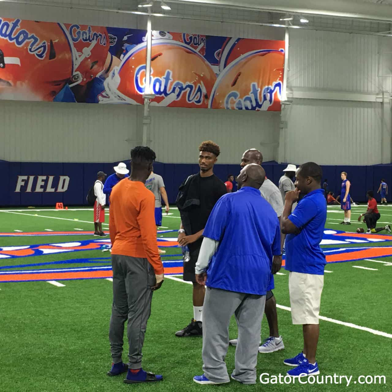 DB Elijah Blades at Florida Gators football camp- 1280x1280