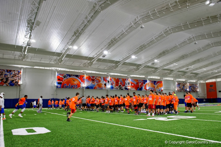 Florida Gators recruiting camp on June 3rd in Gainesville- 1280x853