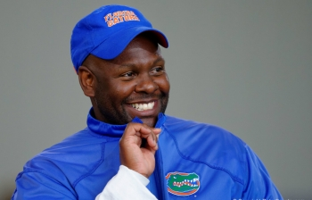 Mallory enjoys his first game in the Swamp: Florida Gators recruiting