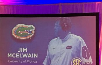 Jim McElwain notebook from SEC Media Days: Florida Gators