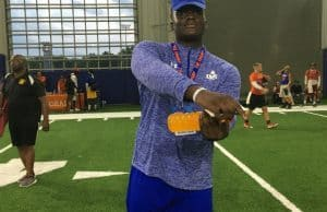 Florida Gators recruiting target Reuben Unije at Friday Night Lights- 1280x960