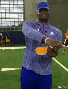 Florida Gators offer and visit excites Unije