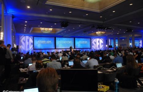 Florida Gators schedule for SEC Media Days