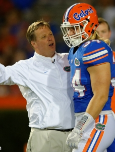 Jim McElwain needs Gators to focus on the now